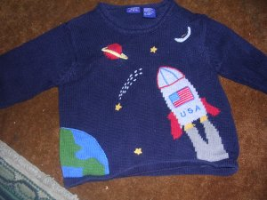 BOY'S 3T SWEATER