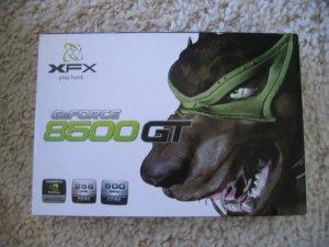 Nvidia 8500 GTS graphics card