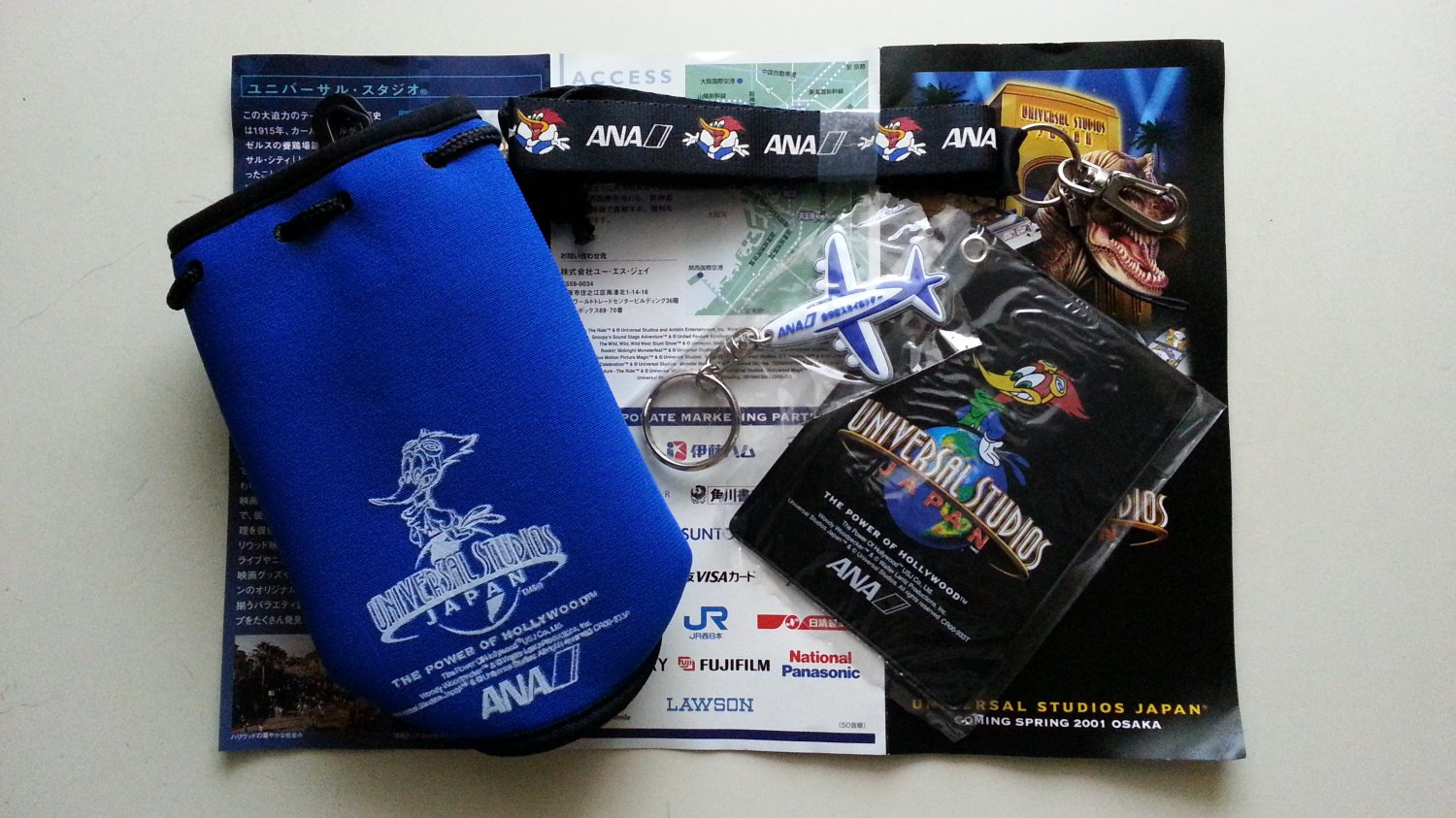 ANA X Universal Studios Japan Grand Opening 2001 All Nippon Airways Gift Package