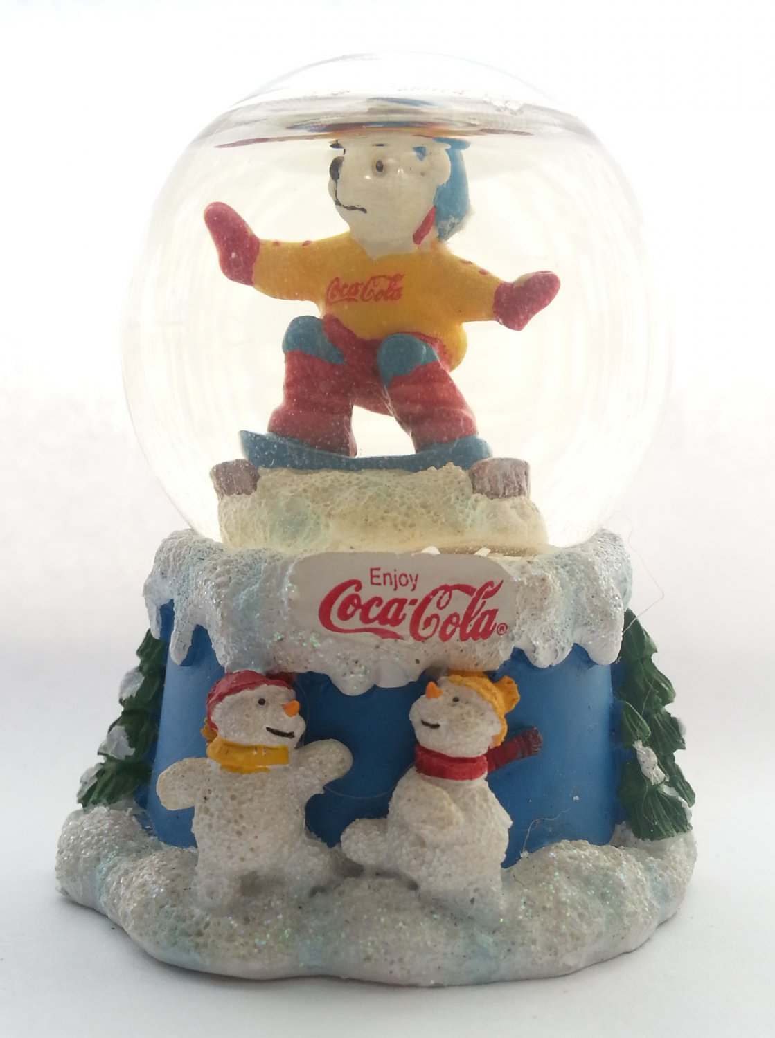 2000 COCA-COLA Winter Magic Glitter Snow Globe