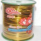 one ribbon gold tie    Roll - 1500 ft
