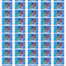 "50 PJ Masks Envelope Seals / Labels / Stickers, 1"" by 1.5"""