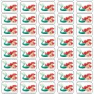 "50 Ariel Little Mermaid Envelope Seals / Labels / Stickers, 1"" by 1.5"""