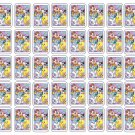 "50 Baby Looney Tunes Envelope Seals / Labels / Stickers, 1"" by 1.5"""