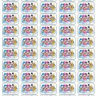 "50 Disney Babies Mickey Minnie Pluto Donald Envelope Seals / Labels / Stickers, 1"" by 1.5"""