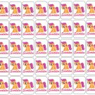 "50 My Little Pony Scootaloo Envelope Seals / Labels / Stickers, 1"" by 1.5"""