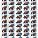 "50 Blaze and the Monster Machines Envelope Seals / Labels / Stickers, 1"" by 1.5"""
