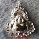 Exlusive Handcraft 3D One Of A Kind Buddha .999 Solid Silver Extra Large Pendant