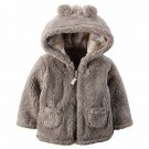 NEW Carter's Baby Unisex Boy or Girl Sherpa Hoodie   - 9 Months