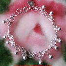 Little Melody Ball Charms .925 Anti Tarnish Sterling Silver Dangling Bracelet