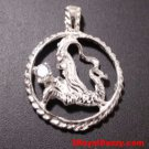 Astrology Zodiac Capricorn Horoscope Birthday Anti Tarnish .925 Silver Pendant