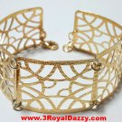 14k Yellow Gold Layer on 925 Bracelet 3RoyalDazzy.com Handmade Exclusive 10