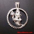 Astrology Zodiac Virgo Horoscope Birthday Anti Tarnish .925 Silver Charm Pendant
