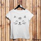 Cat t-shirt, cute cat shirt, cat shirt, women t-shirt