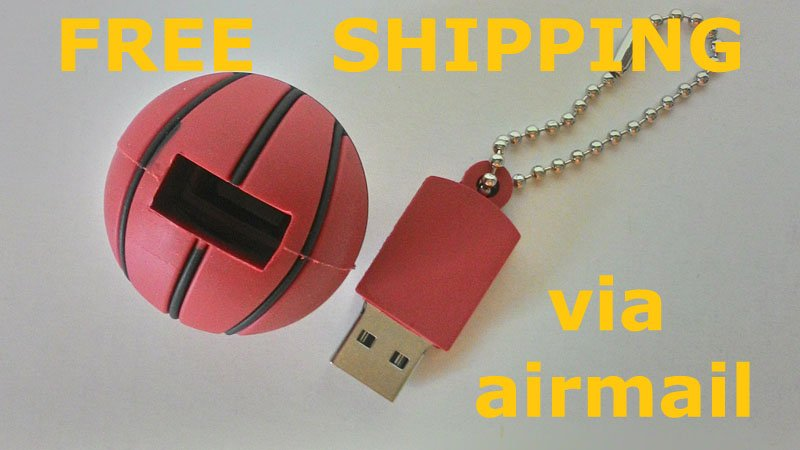 16gb usb flash drive memory stick basketball