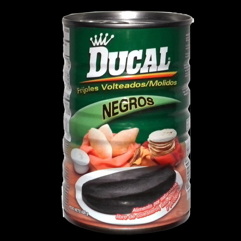 Ducal Refried Black Beans Frijoles Negros Volteados