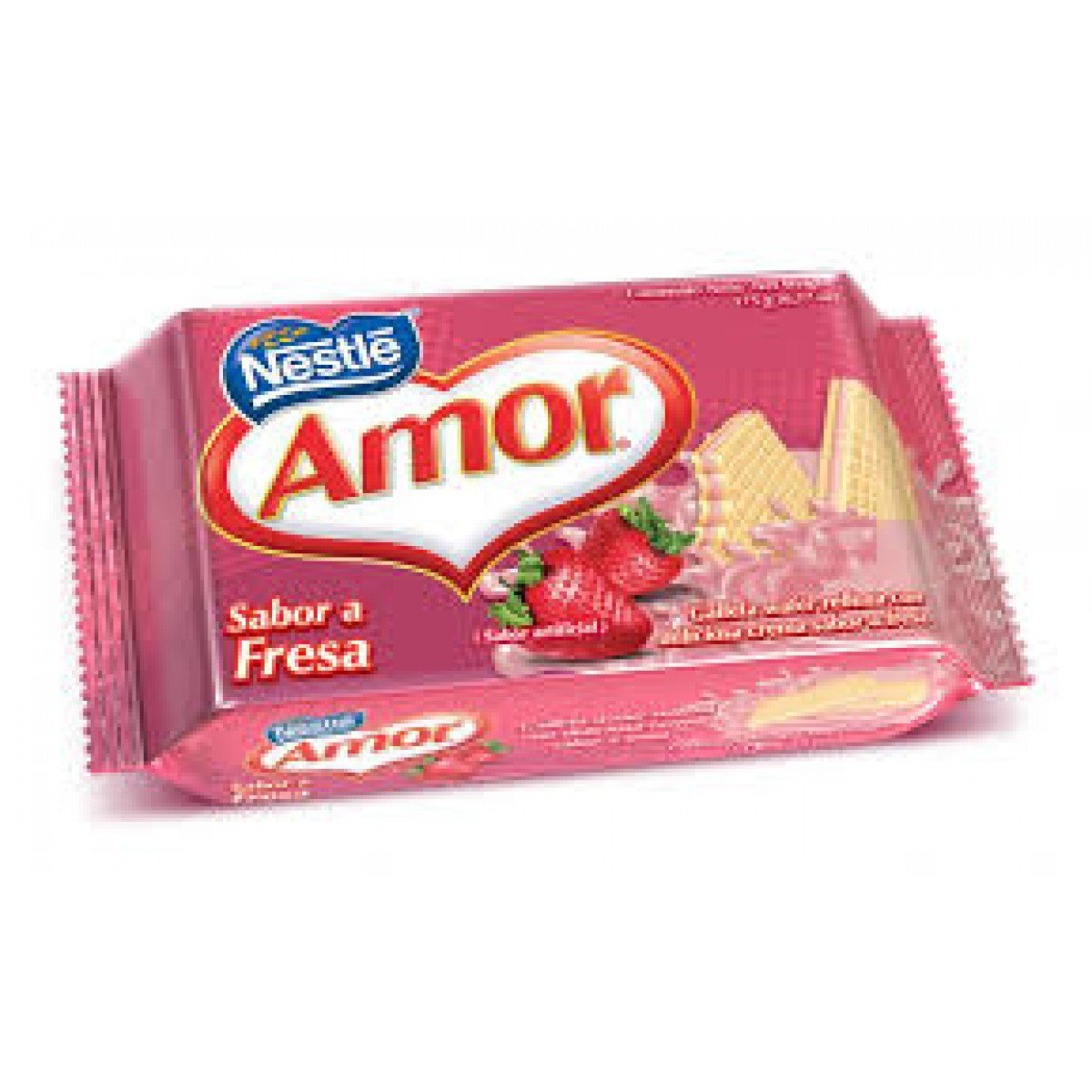 Galleta Amor Sabor a Fresa Love Nestle Cookies