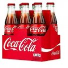 Classic Coke 6 Pack Soda Box 12oz Coke Bottles