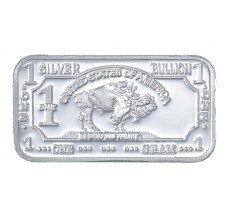 1 Gram .999 Fine Silver Bullion Bar Bu Buffalo