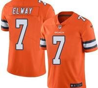 Denver Broncos Orange Color Rush Jersey
