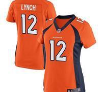 Denver Broncos Women Paxton Lynch #12  Elite Jersey