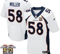Denver Broncos Von Miller #58 Elite Jersey