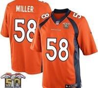 Denver Broncos Youth Von Miller #58 Jersey