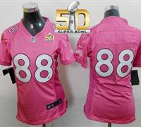 Denver Broncos Women Demaryius Thomas Jersery