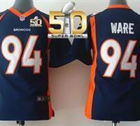 Denver Broncos Youth DeMarcus Ware #94 Jersey