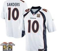 Denver Broncos Youth Emmanuel Sanders #10 jersey