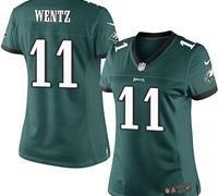 Philadelphia Eagles Women #11 Carson Wentz Jersey