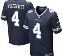 Dallas Cowboys Dak Prescott #4 Jersey