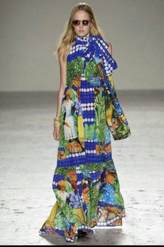 Bohemian Elegant Color Dress
