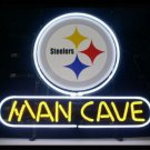"Brand New NFL Pittsburgh Steelers Man Cave Beer Bar Pub Neon Light Sign 13""x 8"" [High Quality]"