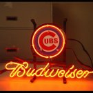 "Brand New MLB Chicago Cubs Budweiser Beer Bar Pub Neon Light Sign 13""x 8"" [High Quality]"