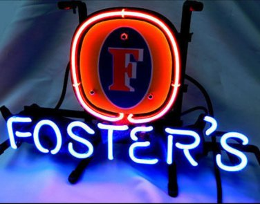 """Brand New Fosters Beer Bar Pub Neon Light Sign 13""""x 8"""" [High Quality]"""