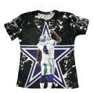 T-shirts No.88 Rookie Quarteback Dak Prescott Graphic Summer 3D Printed For Dallas Fans style 2