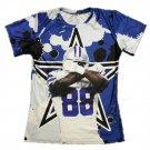 T-shirts No.88 Rookie Quarteback Dak Prescott Graphic Summer 3D Printed For Dallas Fans style 4