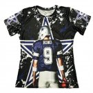 T-shirts No.9 Dallas Tony Romo 3D Printed T-shirts Character Tees Short Sleeve T shirt Men style 2