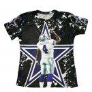 T-shirts No.4 Quarteback Dak Prescott Graphic Summer 3D Printed For Dallas Fans style 4