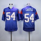 Thad Castle 54 Mountain State TV Show Football Jersey-Blue style