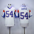 Thad Castle 54 Mountain State TV Show Football Jersey-White style