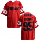 Shook Ones 95 Hennessy Queens Bridge Red Football Jersey