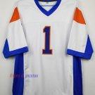 Harmon Tedesco 1 Mountain State TV Show Football Jersey-White style