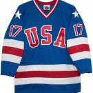 1980 Jack O'Callahan Olympic USA MIRACLE Hockey K1 Jersey New Blue Any Size RARE
