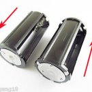 Black Parallel Battery Adapter Holder 3x 18650 3.7V Case Box F Flashlight Torch