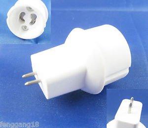 MR16 To GU10 Socket Base LED Halogen CFL Light Bulb Lamp Adapter Converter Holde