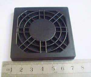 Black Dustproof Dust Fan Filter for DC PC Fan 60mm 6cm New