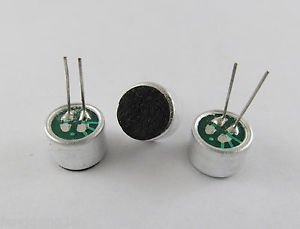 10pcs Omnidirectional Back Electret Condenser Microphone 9*7mm 56DB P08 New