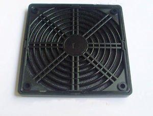 Black Dustproof Dust Fan Filter for DC PC Fan L 120mm 12cm New
